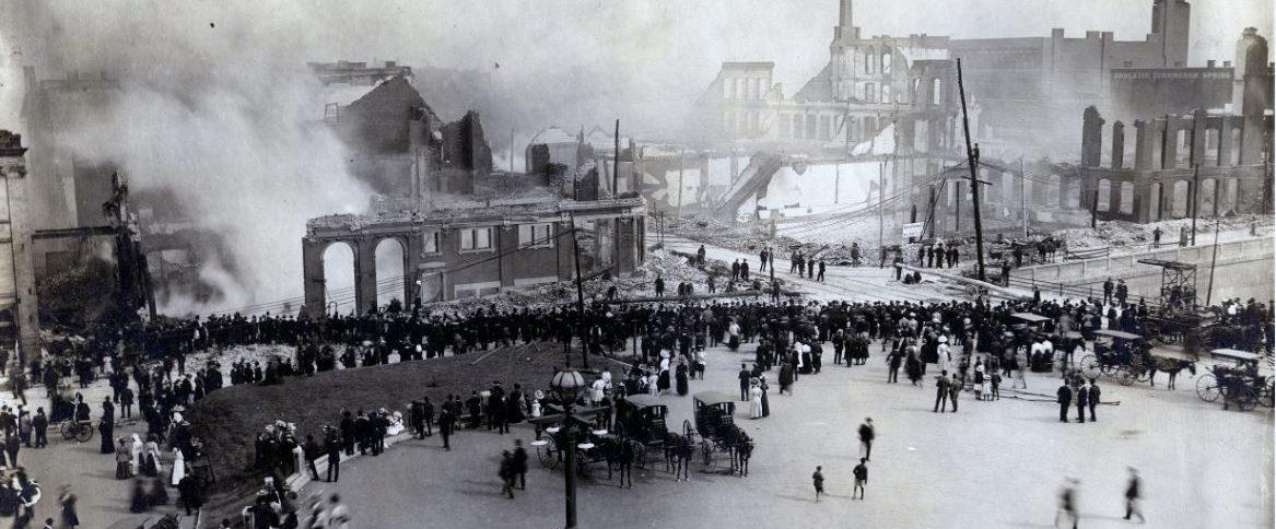 Atlanta Conflagration 1908